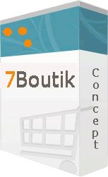 7Boutik Cart concept, solution complète de panier d'achat électronique