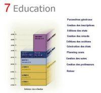 7Education ,Module de consultation des comptes et archives à Distance