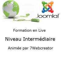 Formation Joomla en web conférence - Niveau Intermédiaire