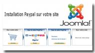 Installation passerelle de paiement Paypal sur Joomla